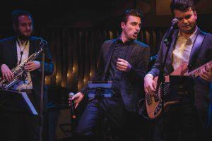 Die hochzeitsband aus Stuttgart live auf der Bühne